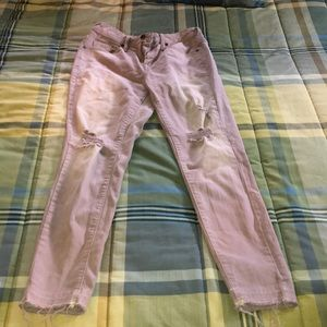 high rise skinny target jeans